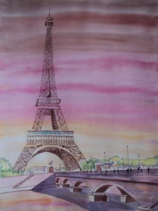 Aquarelas de Paris
